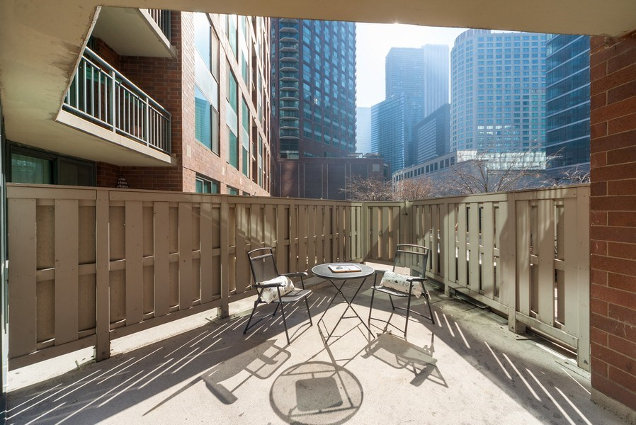 Real Estate Photography - 440 N McClurg Ct, Unit 309, Chicago, IL, 60611 - Patio
