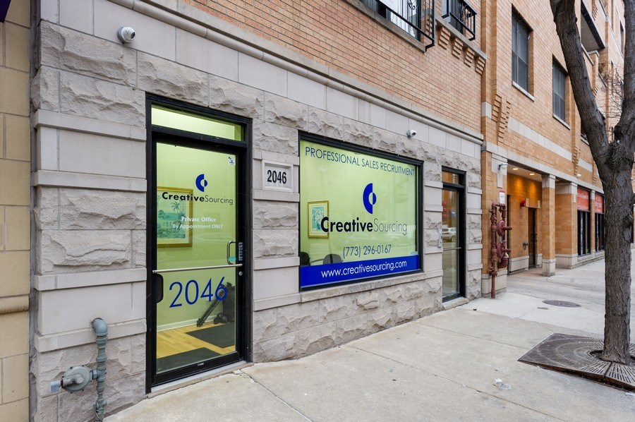 Real Estate Photography - 2046 W. BELMONT, Chicago, IL, 60647 - Front View