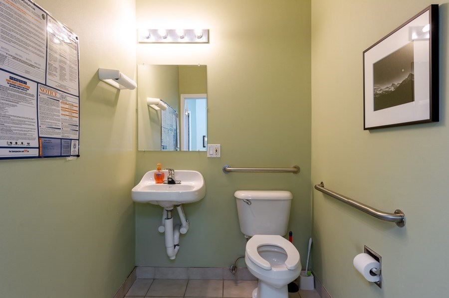 Real Estate Photography - 2046 W. BELMONT, Chicago, IL, 60647 - Bathroom