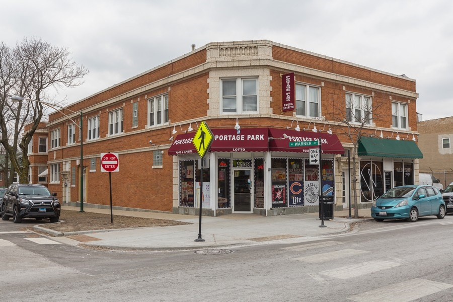 Real Estate Photography - 4138 N Milwaukee Ave, Chicago, IL, 60641 - Front View