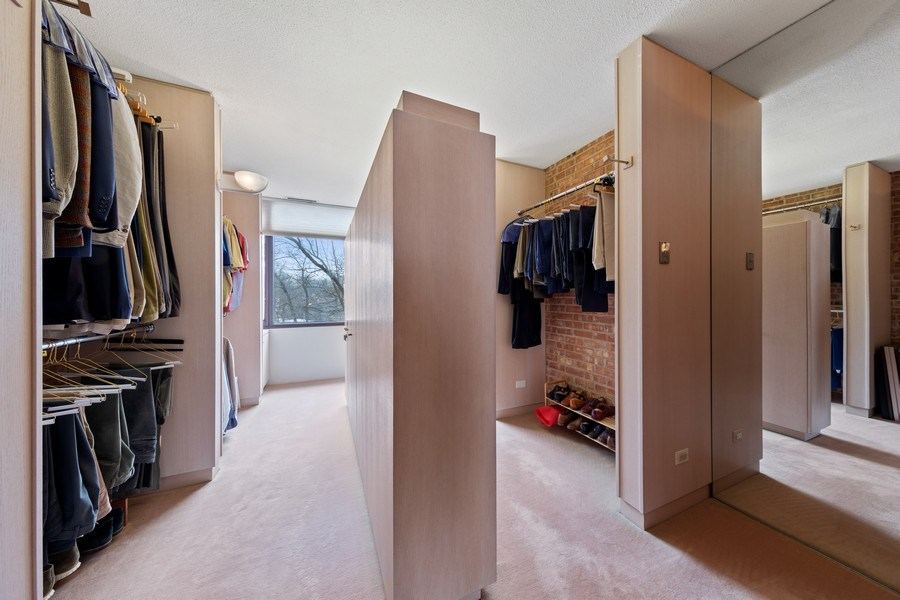 Real Estate Photography - 24 Brinker Rd, Barrington Hills, IL, 60010 - Master Bedroom Closet