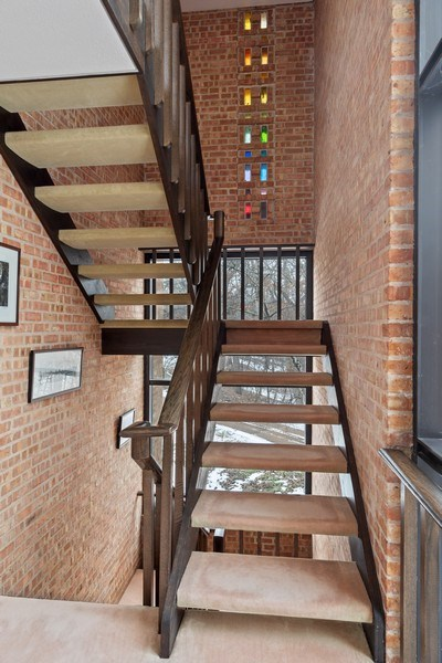 Real Estate Photography - 24 Brinker Rd, Barrington Hills, IL, 60010 - Staircase