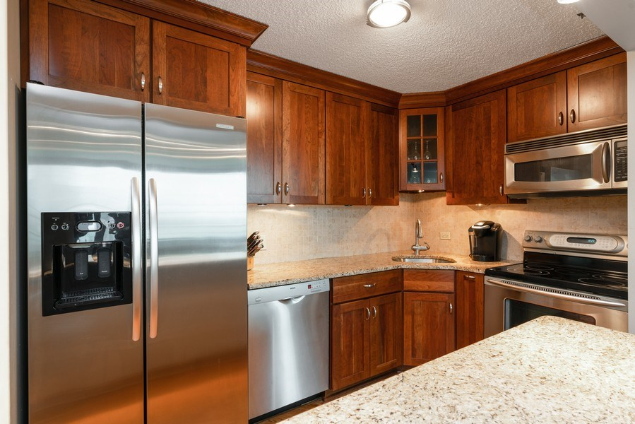 Real Estate Photography - 480 N McClurg Ct, Unit 716, Chicago, IL, 60611 - Kitchen