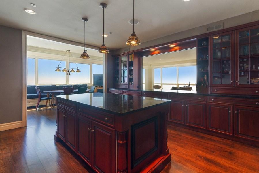 Real Estate Photography - 445 E North Water, Unit 2605, Chicago, IL, 60611 - Kitchen
