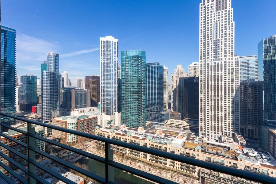 Real Estate Photography - 445 E North Water, Unit 2605, Chicago, IL, 60611 - Patio