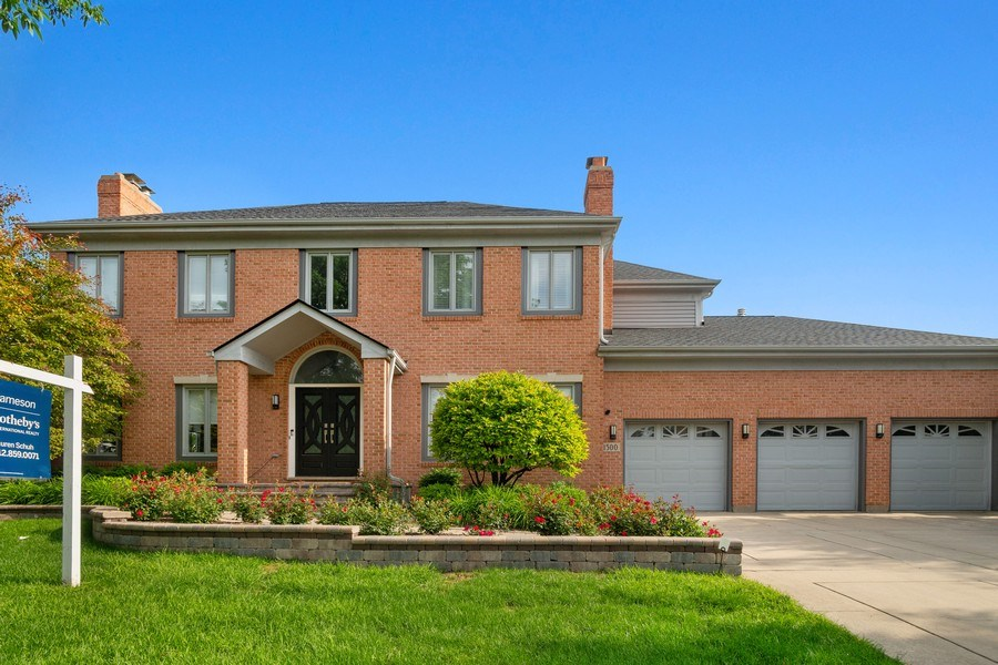 Real Estate Photography - 1500 Burberry Lane, Schaumburg, IL, 60173 - Front View