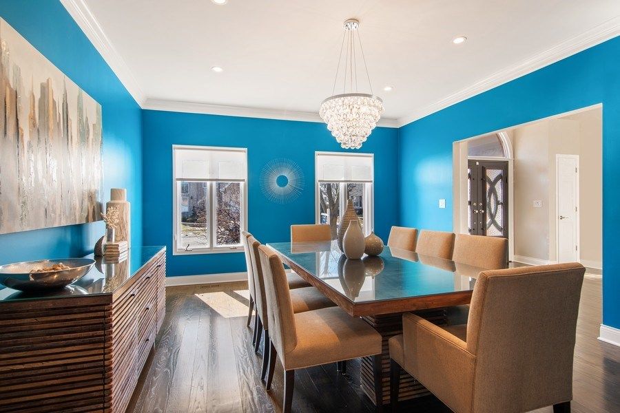 Real Estate Photography - 1500 Burberry Lane, Schaumburg, IL, 60173 - Dining Room