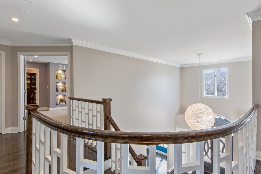Real Estate Photography - 1500 Burberry Lane, Schaumburg, IL, 60173 - Staircase