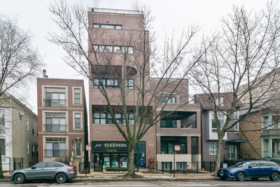 Real Estate Photography - 2549 N. Southport, 2, Chicago, IL, 60614 - Front View