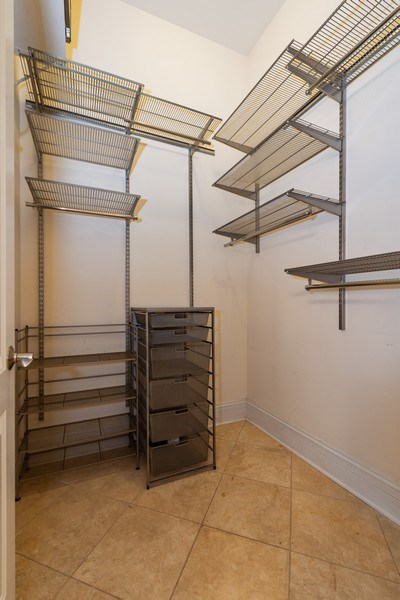 Real Estate Photography - 2549 N. Southport, 2, Chicago, IL, 60614 - Master Bedroom Closet