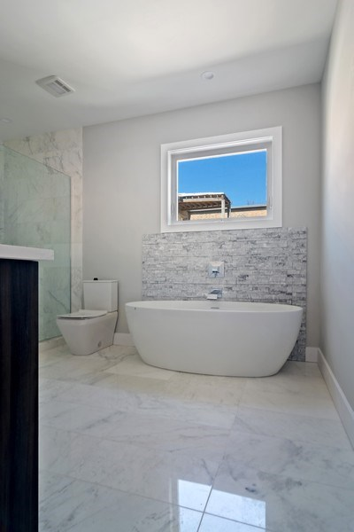 Real Estate Photography - 4249 N. Ridgeway Ave., Chicago, IL, 60618 - Master Bathroom