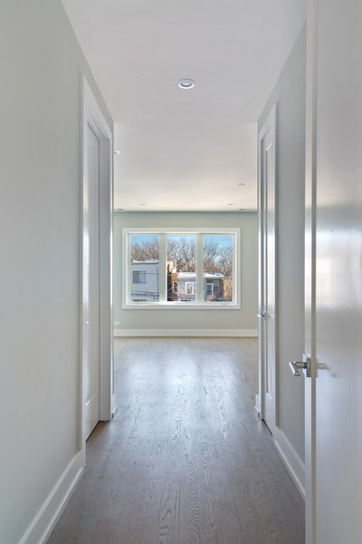 Real Estate Photography - 4249 N. Ridgeway Ave., Chicago, IL, 60618 - Master Bedroom