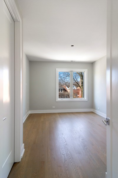 Real Estate Photography - 4249 N. Ridgeway Ave., Chicago, IL, 60618 - 2nd Bedroom