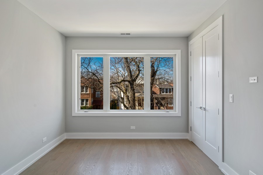 Real Estate Photography - 4249 N. Ridgeway Ave., Chicago, IL, 60618 - 3rd Bedroom