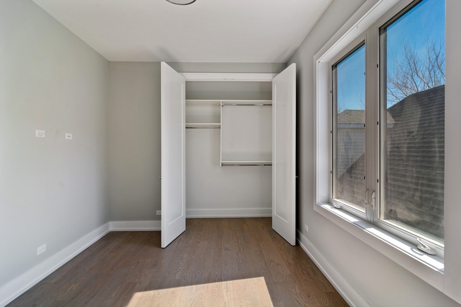 Real Estate Photography - 4249 N. Ridgeway Ave., Chicago, IL, 60618 - 4th Bedroom