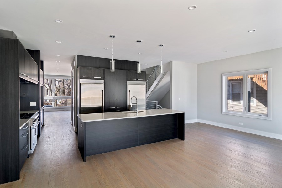 Real Estate Photography - 4249 N. Ridgeway Ave., Chicago, IL, 60618 - Kitchen / Breakfast Room