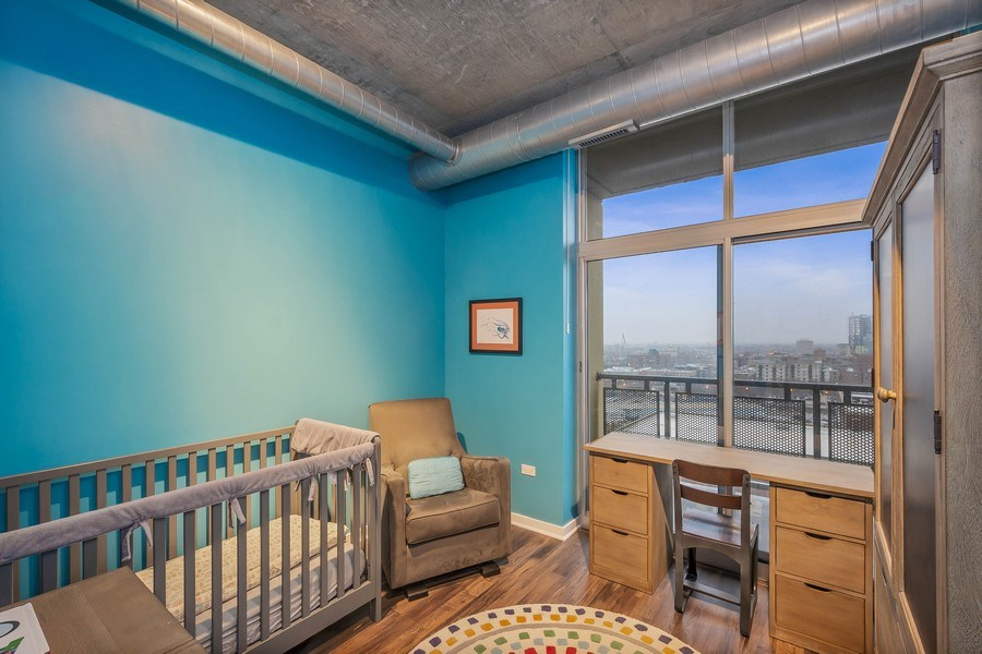 Real Estate Photography - 700 N Larrabee #1115, Chicago, IL, 60654 - 3rd Bedroom