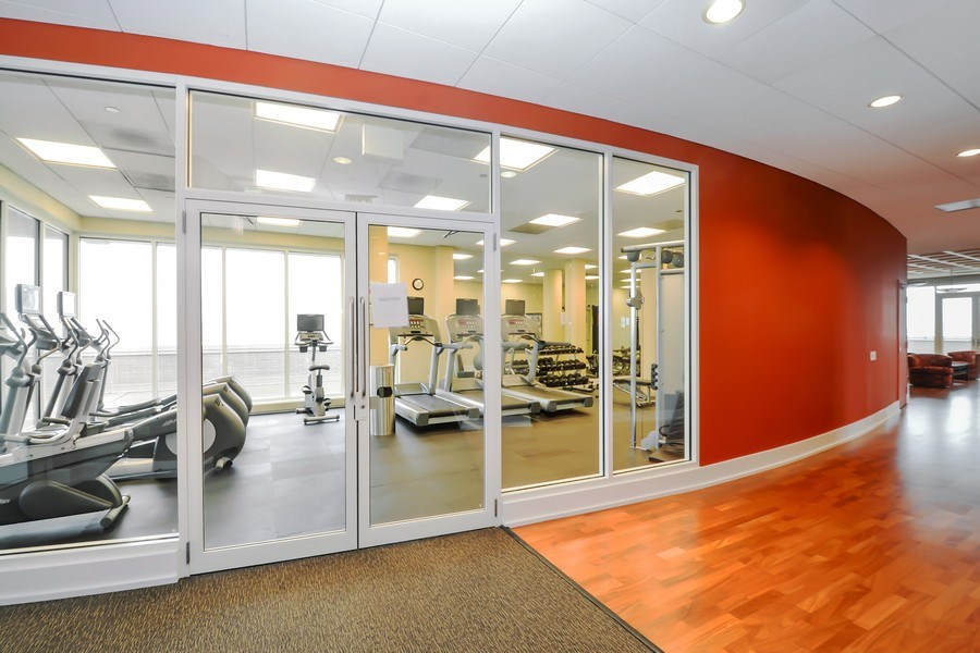 Real Estate Photography - 1515 S Prairie Ave #403, Chicago, IL, 60605 - Fitness Center
