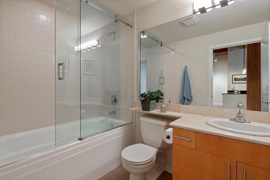 Real Estate Photography - 1040 W Adams St., Unit 209, Chicago, IL, 60607 - Bathroom