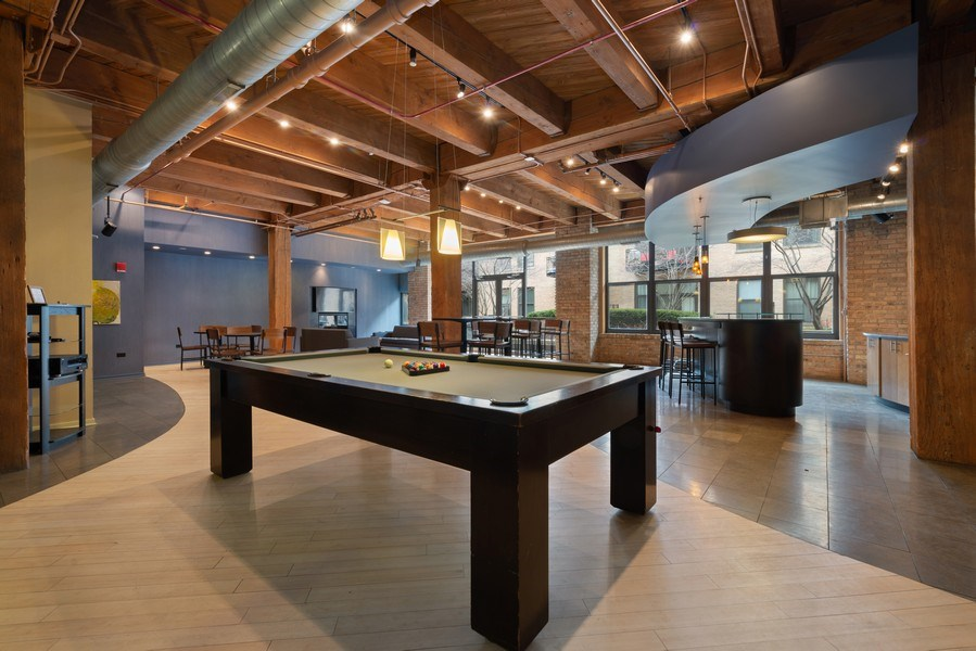 Real Estate Photography - 1040 W Adams St., Unit 209, Chicago, IL, 60607 - Play / Recreational Room
