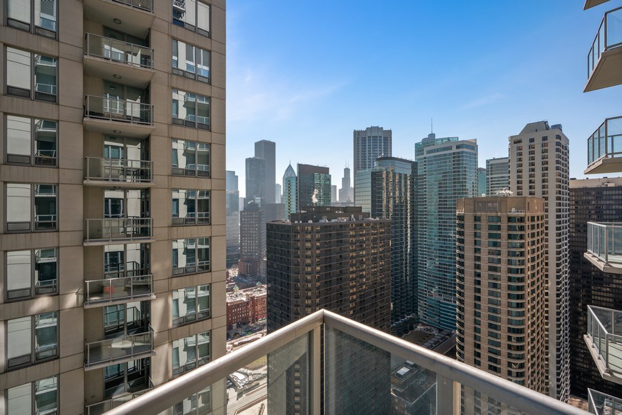 Real Estate Photography - 600 N Lake Shore Dr, Unit 3503, Chicago, IL, 60611 - View