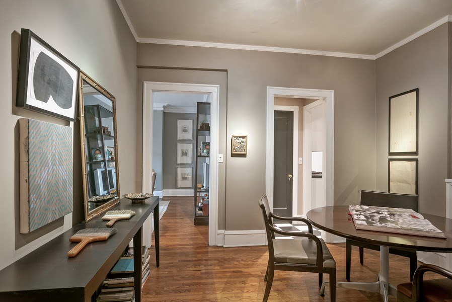Real Estate Photography - 2600 North Lakeview Avenue, #4E, Chicago, IL, 60614 - DINING ROOM COULD ALSO BE MULTI-PURPOSE SPACE