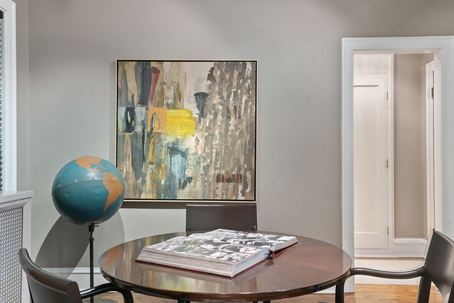Real Estate Photography - 2600 North Lakeview Avenue, #4E, Chicago, IL, 60614 - ANOTHER PERSPECTIVE OF DINING ROOM