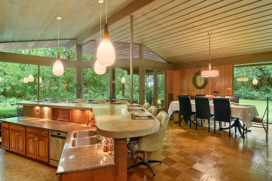Real Estate Photography - 65 Timberlake Parkway, Barrington, IL, 60010 - Kitchen / Dining Room