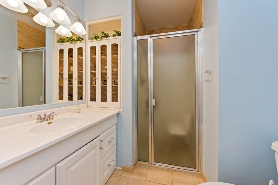 Real Estate Photography - 7252 N Overhill, Chicago, IL, 60631 - 3rd Bathroom
