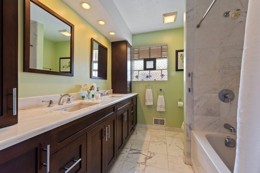 Real Estate Photography - 7252 N Overhill, Chicago, IL, 60631 - Bathroom