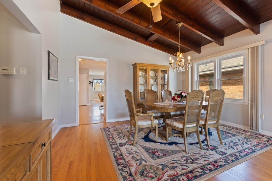 Real Estate Photography - 7252 N Overhill, Chicago, IL, 60631 - Kitchen / Dining Room