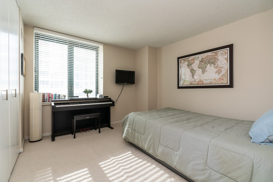 Real Estate Photography - 480 N McClurg Ct, Unit 920, Chicago, IL, 60611 - 2nd Bedroom