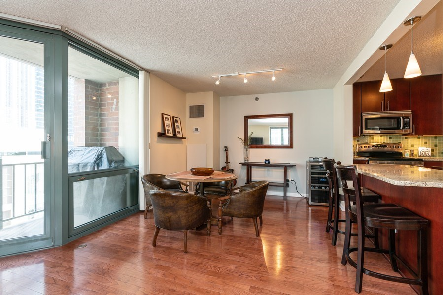 Real Estate Photography - 480 N McClurg Ct, Unit 920, Chicago, IL, 60611 - Dining Room