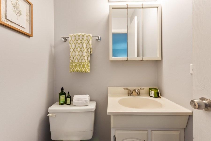 Real Estate Photography - 2219 Nichols, #E, Arlington Heights, IL, 60004 - Half Bath