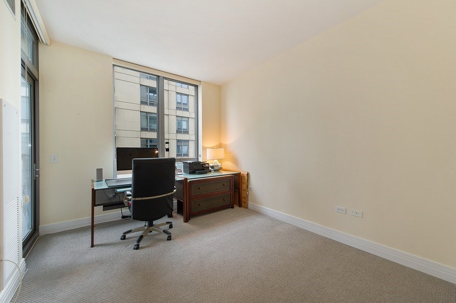 Real Estate Photography - 600 N Lake Shore #3809, Chicago, IL, 60611 - 2nd Bedroom