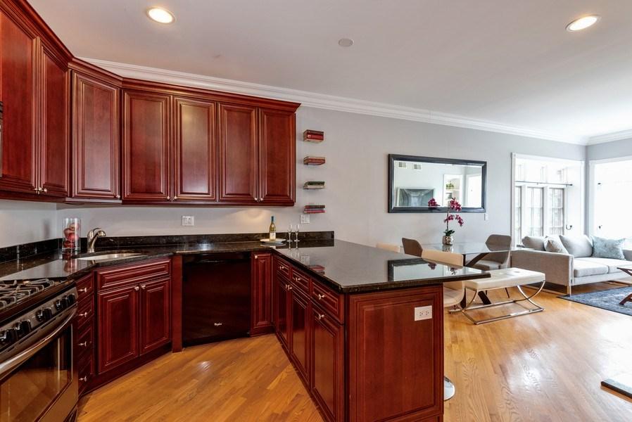 Real Estate Photography - 847 Ridge Ave, Unit 2, Evanston, IL, 60202 - Kitchen/Dining