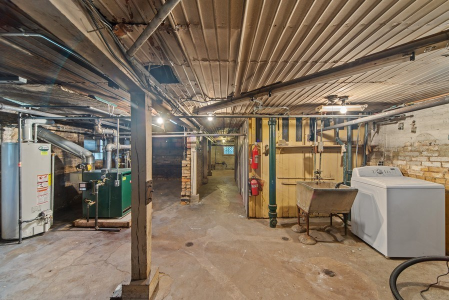Real Estate Photography - 2512 W Cullom, Chicago, IL, 60641 - Basement