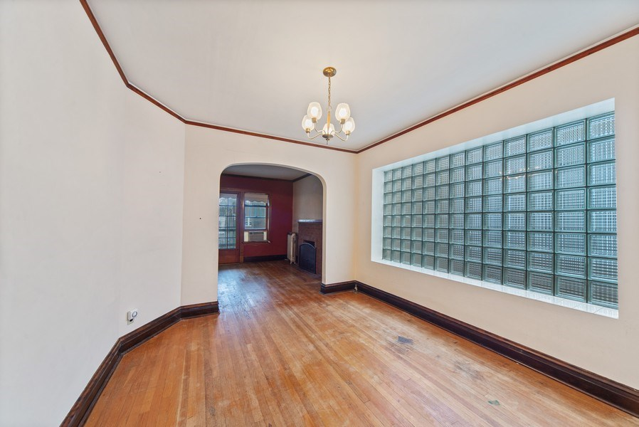 Real Estate Photography - 2512 W Cullom, Chicago, IL, 60641 - Dining Area