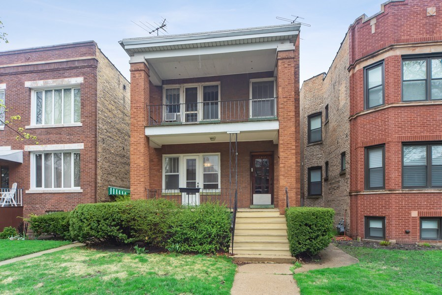 Real Estate Photography - 2512 W Cullom, Chicago, IL, 60641 - Front View