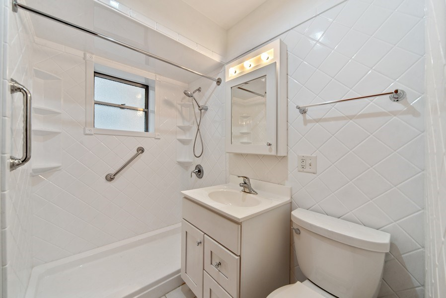 Real Estate Photography - 2512 W Cullom, Chicago, IL, 60641 - Bathroom