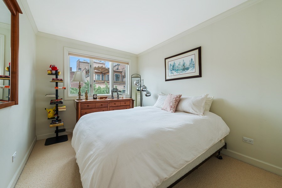 Real Estate Photography - 1839A N. Hudson, Chicago, IL, 60614 - 2nd Bedroom