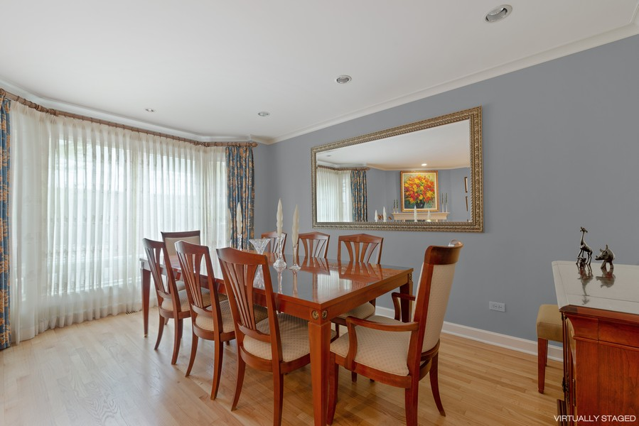 Real Estate Photography - 1839A N. Hudson, Chicago, IL, 60614 - Dining Room