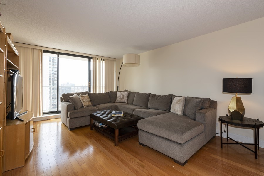 Real Estate Photography - 1250 N Dearborn #16E, Chicago, IL, 60610 - Living Room