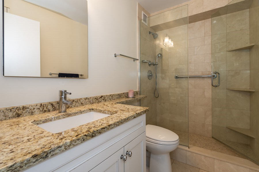 Real Estate Photography - 1250 N Dearborn #16E, Chicago, IL, 60610 - Master Bathroom