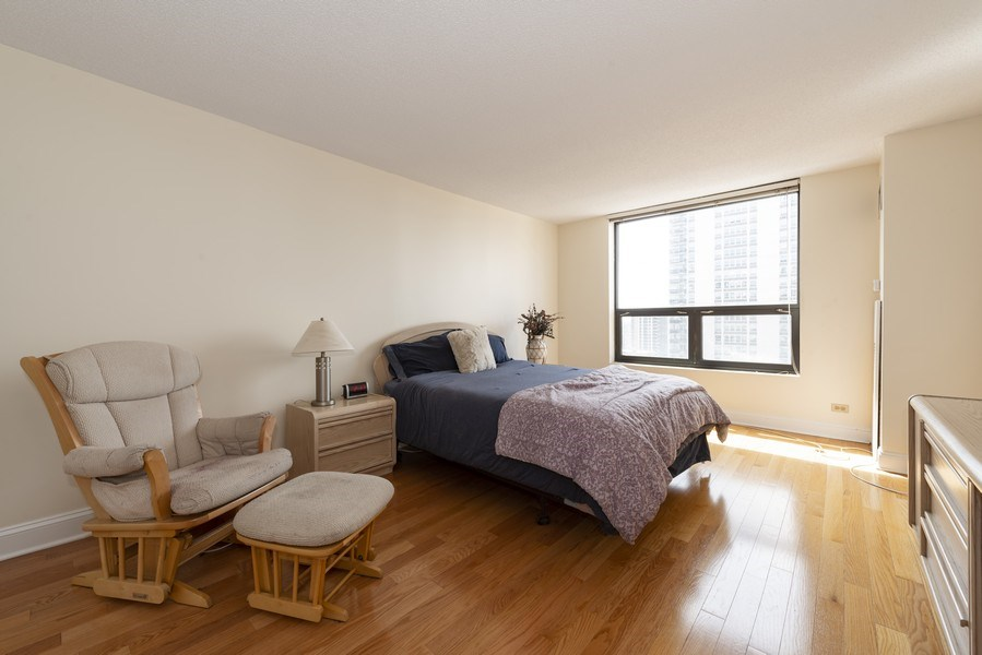 Real Estate Photography - 1250 N Dearborn #16E, Chicago, IL, 60610 - Master Bedroom