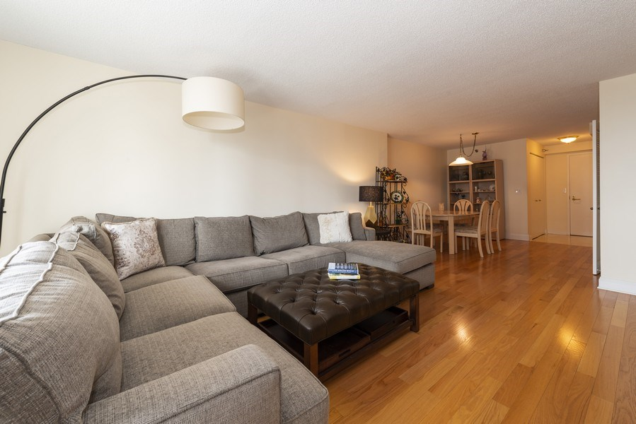Real Estate Photography - 1250 N Dearborn #16E, Chicago, IL, 60610 - Living Room / Dining Room