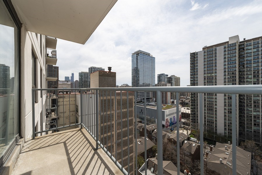 Real Estate Photography - 1250 N Dearborn #16E, Chicago, IL, 60610 - Balcony