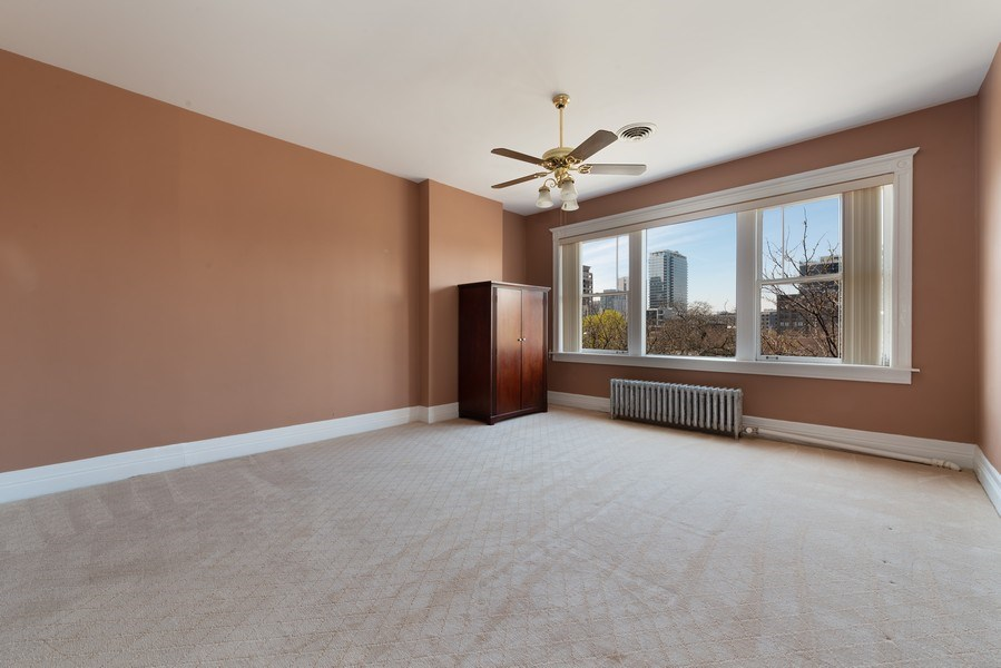 Real Estate Photography - 915 N LaSalle, Chicago, IL, 60610 - 4th Bedroom