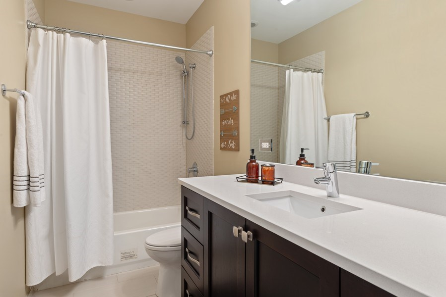 Real Estate Photography - 1312 W Barry, Chicago, IL, 60657 - Bathroom