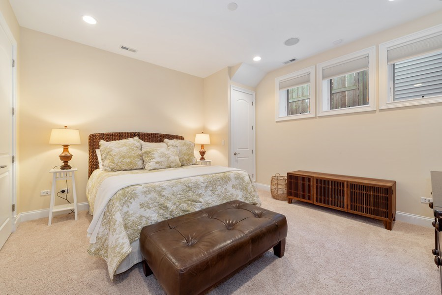 Real Estate Photography - 1312 W Barry, Chicago, IL, 60657 - Bedroom